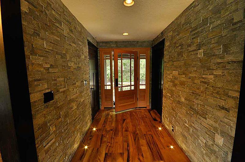 Rock entryway